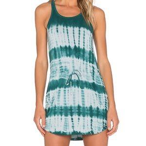 Chaser Tie Dye Strappy Back T-Shirt Dress